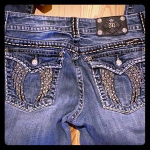 Used with wear Miss Me Jeans